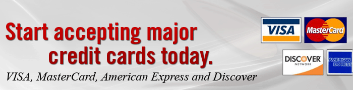 Start Accepting Credit Cards Today!