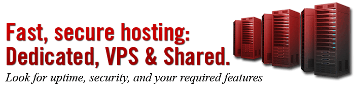 Website and Application Hosting